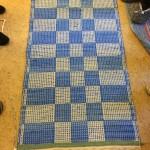 Jämtlandsdräll blå