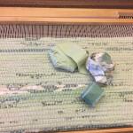 Vårgrön matta